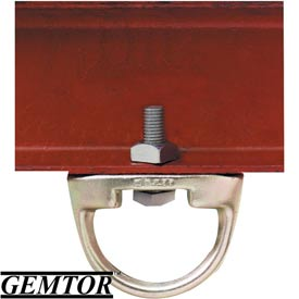 "Gemtor AD-2, Anchor D-Ring - w/ 1/2"" Mounting Hole"