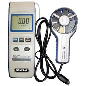 General Tools DAF80PWM High Temperature Metal Vane Anemometer