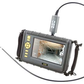 "General Tools DCS2000 Super High-Performance VGA Recording Video Borescope System w/ 7"" LCD Screen"