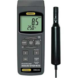 General Tools DOM551SD Datalogging Dissolved Oxygen Meter W/ SD Card by