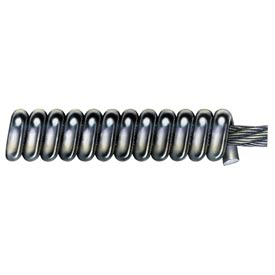 "General Wire 25HE1-A, 25'x5/16"" Flexicore Cable w/ Spring End"