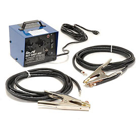 General Wire HS-400 300/400 Amp Hot-Shot™ Pipe Thawing Machine w/ (2) 20' #1 Cables & Clamps