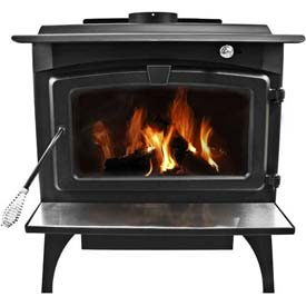 Pleasant Hearth 2,200 Sq Ft Wood Burning Stove Heater With Blower, Large LWS-130291