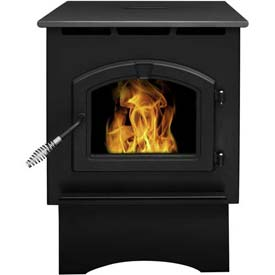 Pleasant Hearth Pellet Stove Heater Medium 35,000 BTU With 40 Pound Hopper PH35ps