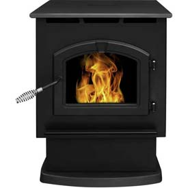 Pleasant Hearth Pellet Stove Heater Large 50,000 BTU With 80 Pound Hopper PH50ps