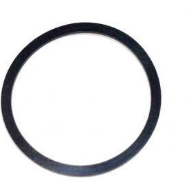 133 Contoured Backup Ring, 1-13/16ID x 2OD, 90 Duro, Round, Black
