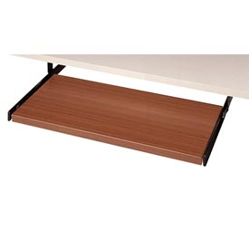 Global™ Pull Out Keyboard Shelf - Avant Honey Laminate