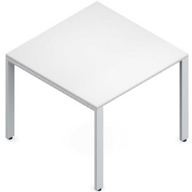 "Buy Global Conference Table Laminate 36""W x 36""D x 29""H White Princeton Series"