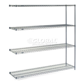 "Nexelon Wire Shelving Add-On 72""W X 18""D X 74""H"