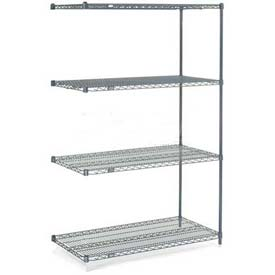 "Nexelon Wire Shelving Add-On 72""W X 18""D X 86""H"