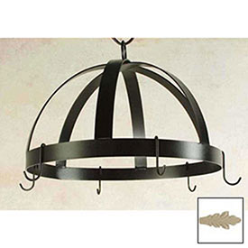Hanging Pot Rack, Domed With 8 Hooks (Stone) by