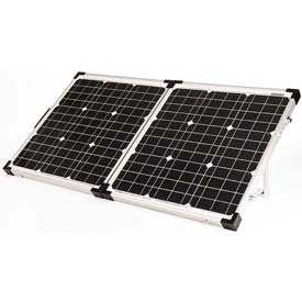Click here to buy 80 WATT / 4.4 AMP Portable Solar Charging Kit.