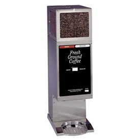 Dual Hopper Coffee Grinder-Single Portion Each Side by