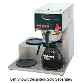 Click here to buy Single, Digitally Controlled Decanter Brewer, 1 Bottom & 2 Right Side Warmers.