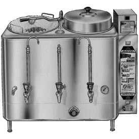 Coffee Urn, Twin 6 Gallon, Automatic Agitator by