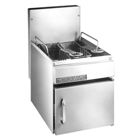 Grindmaster Cecilware GF10 LP Countertop Gas Fryer, 13 Lbs., LP Gas, 26,000 BTU, Stainless... by