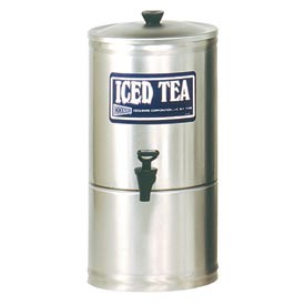 Stainless Steel Iced Tea Dispensers, 3.5 Gallon by