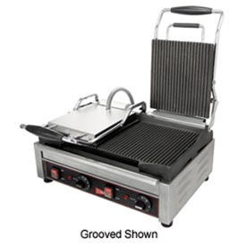 Cecilware SG2LF Panini / Sandwich Grill, Double Flat Surface, 240V by