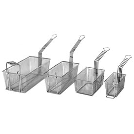 Countertop Fryer Baskets, 10 lbs. Gas, Front Hook by