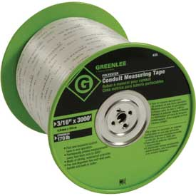 """Greenlee 435 Tape-Measuring 3/16"""" Poly by"""