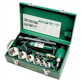 Greenlee 7506 Slug-Splitter Knockout Punch Kit With Hydraulic Ram And Hand Pump by