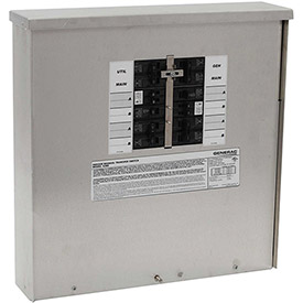 Generac 30-Amp Manual Transfer Switch 10-16 Circuits 7.5kW Outdoor by