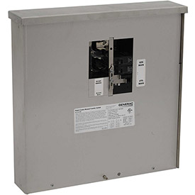 Generac 200-Amp 7,500-Watt Non-Fuse Outdoor Manual Transfer Switch by