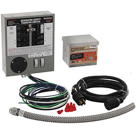 Generac 30-Amp Indoor Transfer Switch Kit for 6-10 Circuits by