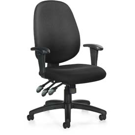 Offices To Go™ MultiFunction Office Chair -Fabric - Black