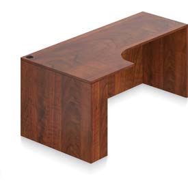 "Offices To Go Left Hand Corner Credenza 71""W x 24/36""D x 29-1/2""H Dark Cherry by"
