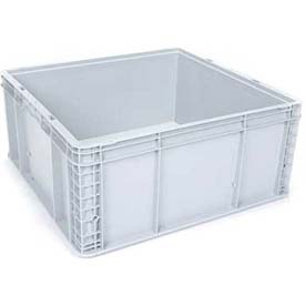 "Georg UTZ Small Load Container (SLC) 50-2422-110-0 - 24""L x 22-1/2""W x 11""H, Silver Grey"
