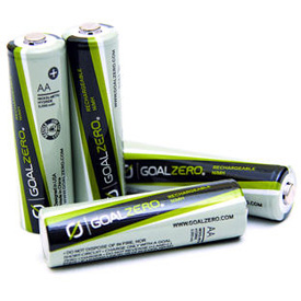 Goal Zero Rechargeable AA Batteries (4 Pack), 11403 by