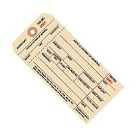 Inventory Tag 1 Part Stub Style 3000 - 3999 - 1000 Pack