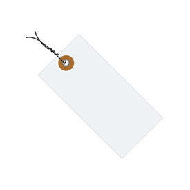 "#6 Tyvek Pre-Wired Tag 5-1/4"" x 2-5/8"" - 1000 Pack"