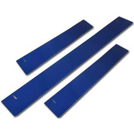 "Homak 60""W x 3""H CTS Base Shield - Blue"