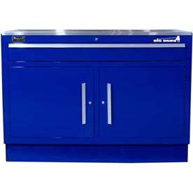 "Homak 46"" CTS 2 Door 1 Drawer Base - Blue"