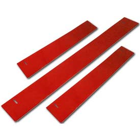 "Homak 60""W x 3""H CTS Base Shield - Red"