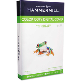 "Buy Hammermill Copier Digital Cvr Stock 120037, 11"" x 17"", Photo White, 250/Pack"