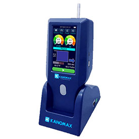 Kanomax Handheld Laser Particle Counter with Extra Memory