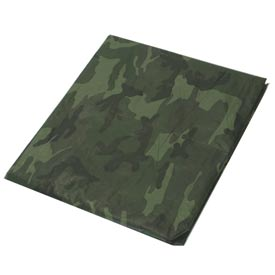 20' x 20' Light Duty 3.3 oz. Tarp, Camouflage/Green - CAMO20x20