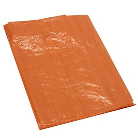 50' x 100' Light Duty 3.3 oz. Tarp, High Visibility Orange - O50x100