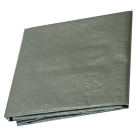 10 x 16' Medium Duty 6 oz. Tarp, Silver - S10x16