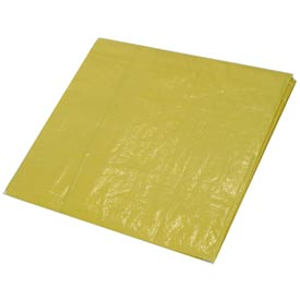 10' x 12' Light Duty 3.3 oz. Tarp, High Visibility Yellow - Y10x12