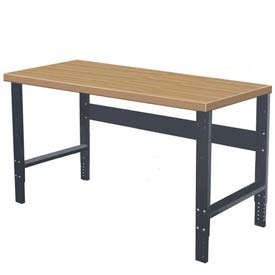 "Hallowell Workbench, 72""W x 36""D x 34""H, Shop Top Square Edge"