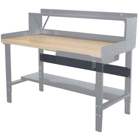 "Hallowell Workbench Stringer, 72""W x 5""H"
