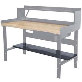 "Hallowell Workbench Lower Shelf, 72""W x 12""D"