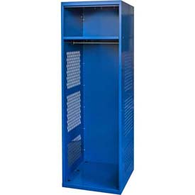 "Hallowell KSNN482-1C-GS Gear Locker, 24""W x 18""D x 72""H, w/Top Shelf, Grand Slam, Unassembled"