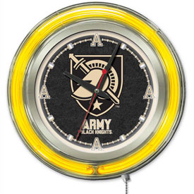 "Buy US Military Academy Double Neon Ring 15"" Dia. Logo Clock"