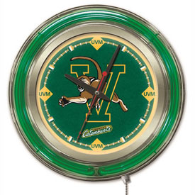 "Buy University of Vermont Double Neon Ring 15"" Dia. Logo Clock"
