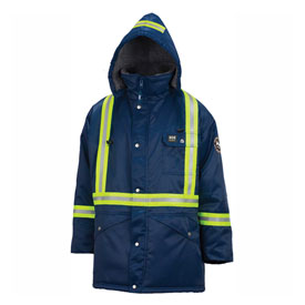 Helly Hansen Weyburn Parka, Navy, Large, 76313-590-L by Parkas